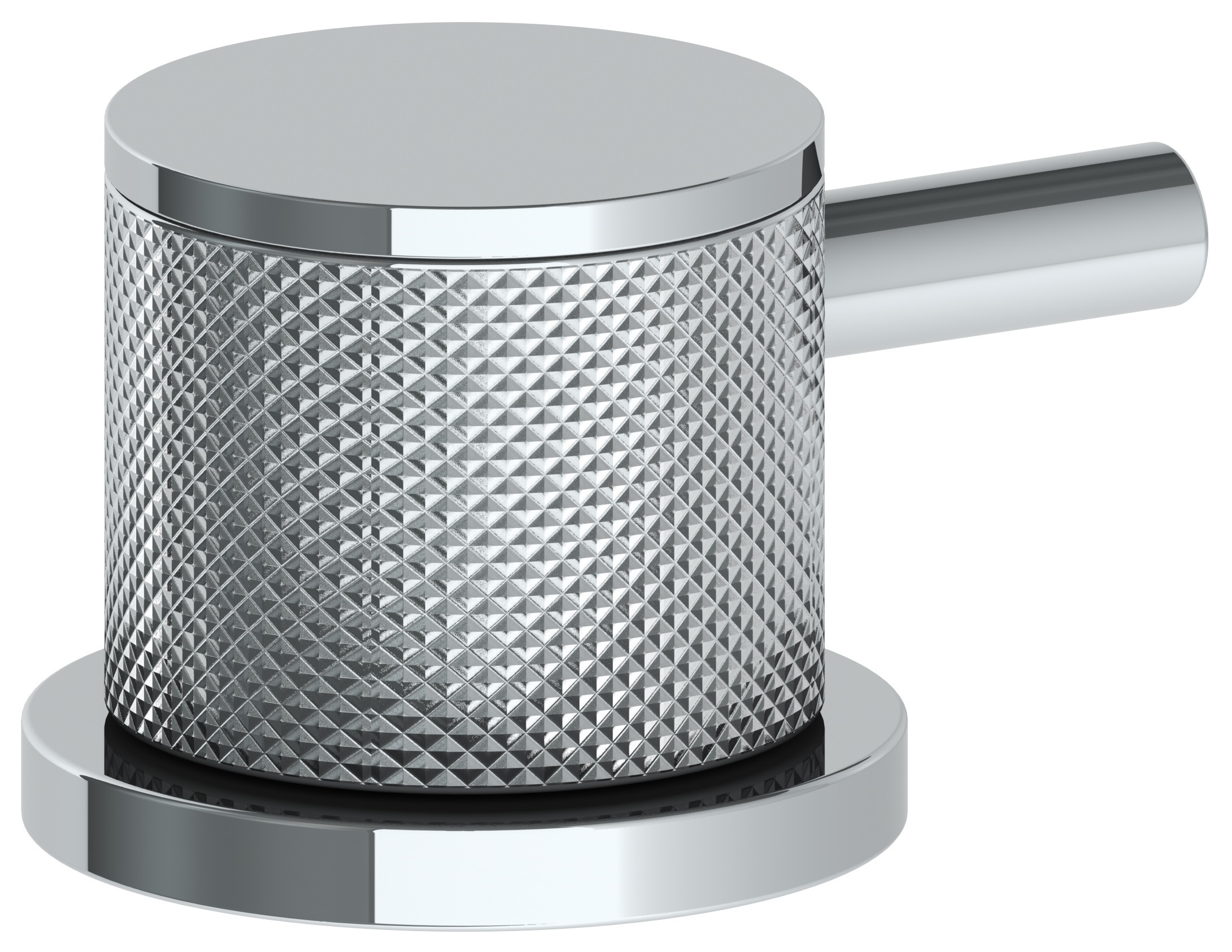 Diamond Knurl/ Smooth Lever