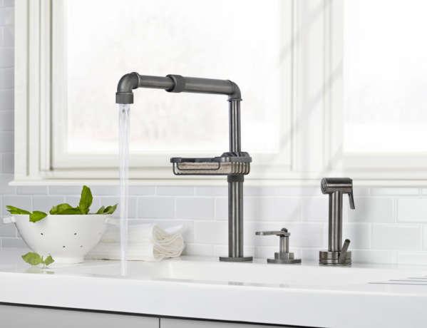 Elan Vital Monoblock Kitchen Faucet W Sponge