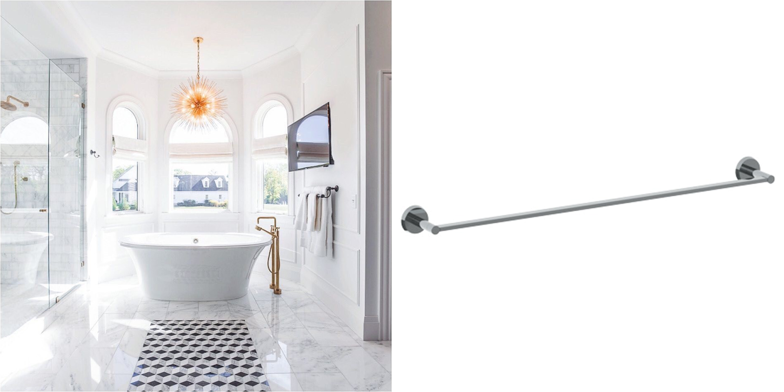 13 Design Ideas Incorporating Luxury High End Towel Bars 4