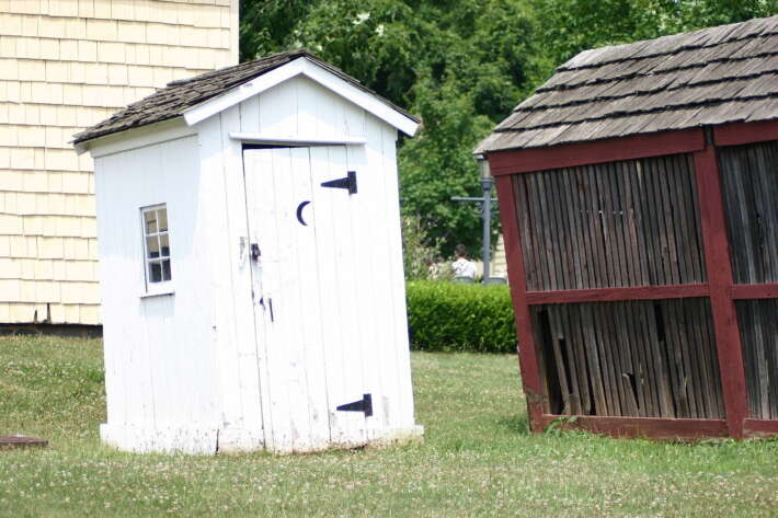 The History of Bathrooms From Outhouses to Heated Seats 3