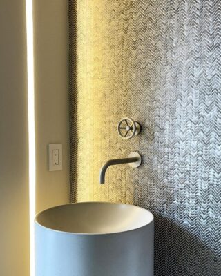 Play With Faucet Handle Placement