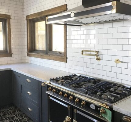 8 Incredible Kitchen Designs That Incorporate Wall Mounted Pot Fillers Image 9