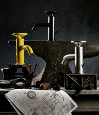9 Unique Industrial Style Bathroom Taps 1