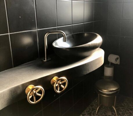 9 Unique Industrial Style Bathroom Taps 4