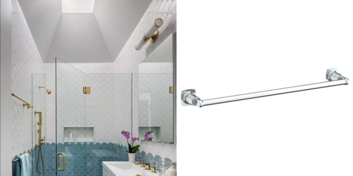13 Design Ideas Incorporating Luxury High End Towel Bars 6