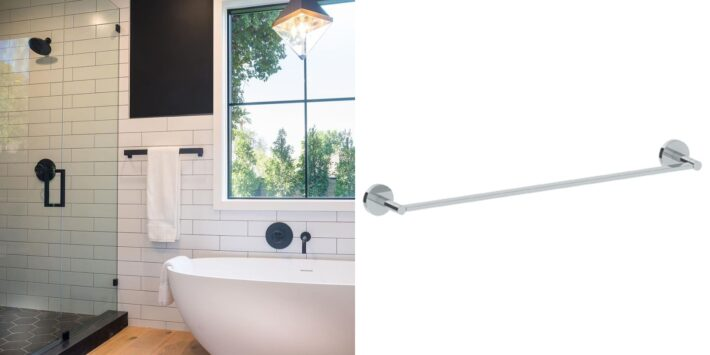 13 Design Ideas Incorporating Luxury High End Towel Bars 9