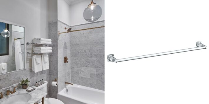 13 Design Ideas Incorporating Luxury High End Towel Bars 12