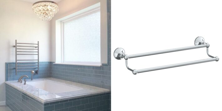 13 Design Ideas Incorporating Luxury High End Towel Bars 13
