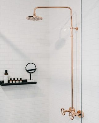 Exposed Shower Set
